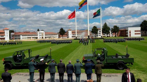 Las Fuerzas Armadas de Colombia