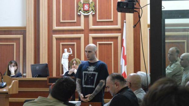 Сохадзе в суде