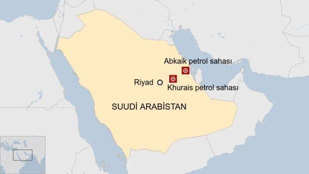 Suudi Arabistan'daki petrol tesislerine saldırı