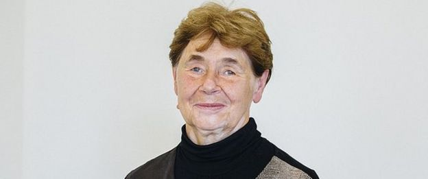 Zofia Romaszewska'nın Polonya başkanlık resmi