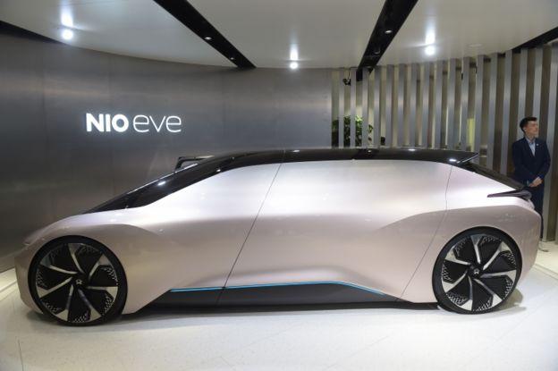 نیو با نمایش کانسپت ایو Eve در پکن ایده خود از آینده ماشینهای الکتریکی خودران را نمایش داد