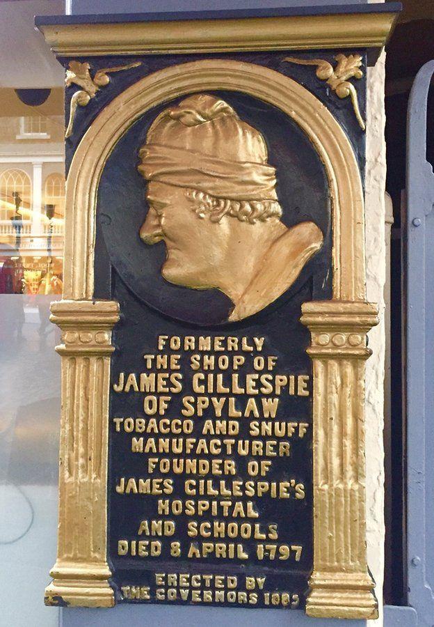 A memorial to James Gillespie