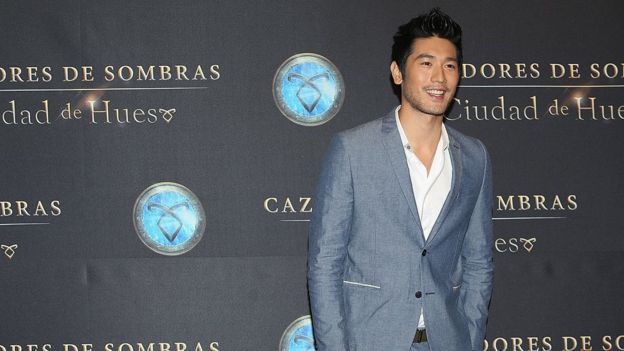 "Godfrey Gao attends The Mortal Instruments: City of Bones"" Mexico City screening, 2013"