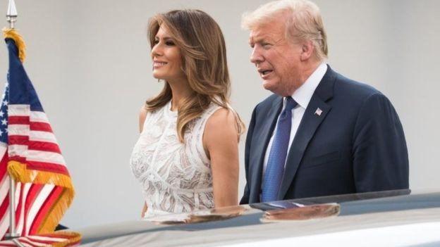 Tổng thống Trump và vợ Melania