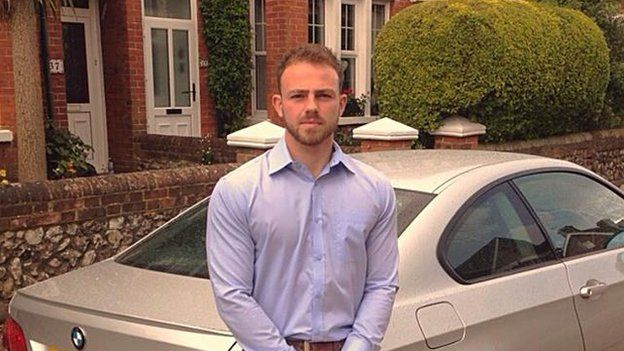 Matt Jones, one of the victims in the Shoreham plane crash