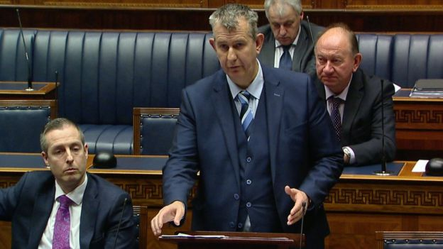 Minister Edwin Poots