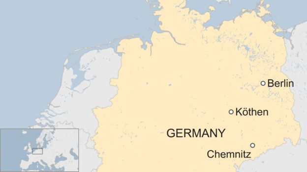 Map Of Germany Over The Years.Germany Migrants Protesters March Over Young Man S Death In Kothen