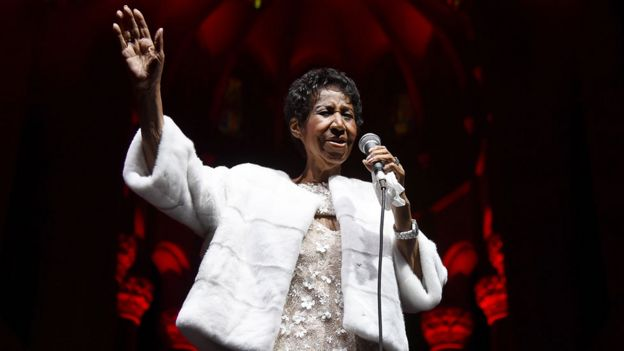 Aretha Franklin started with gospel, ended with soul at age 76
