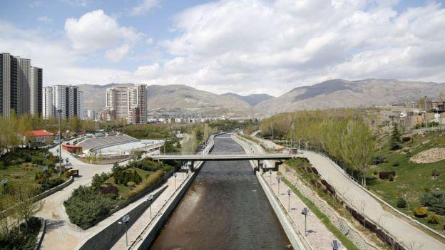تهران در دوران شیوع کرونا