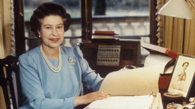 Queen Elizabeth II in 1985