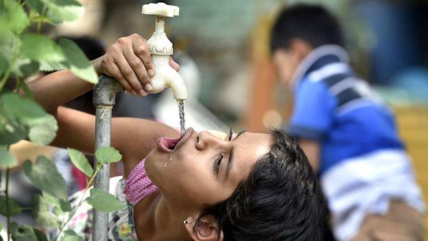 Gelombang panas yang kuat mengantam India bagian utara