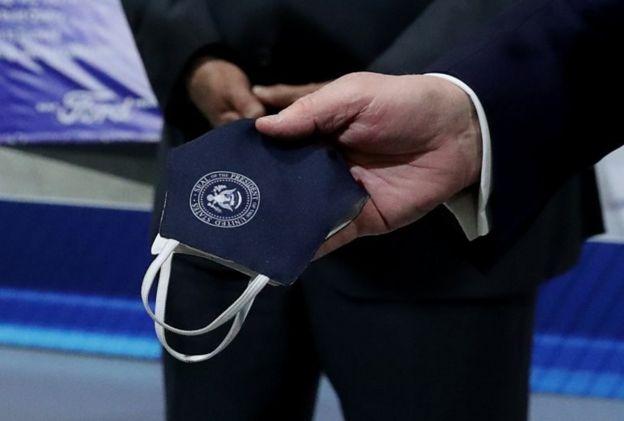 ماسک مخصوص رئیس جمهوری آمریکا