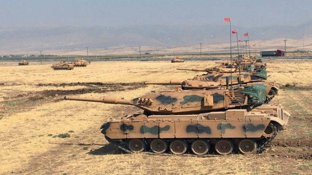 مانور نظامی ترکیه