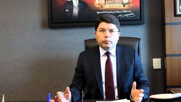 TBMM Adalet Komisyonu Üyesi ve AKP Bartın Milletvekili Yılmaz Tunç