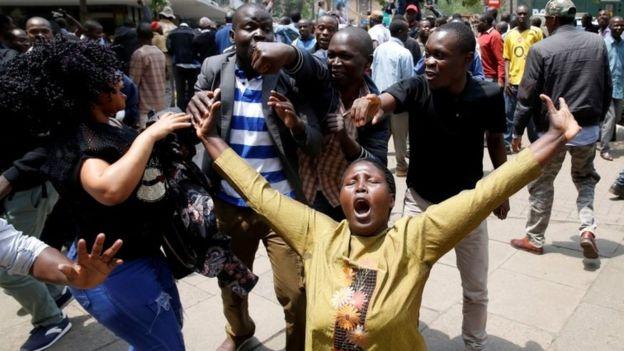 Taageerayaasha mucaaradka oo Nairobi ku dabaaldagaya