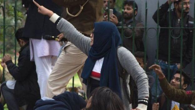 जामिया विरोध प्रदर्शन