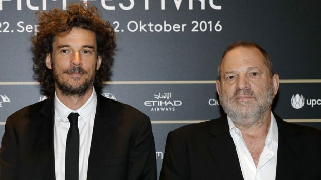 Garth Davis y Harvey Weinstein