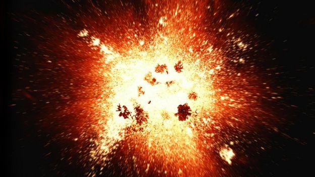 Ilustración del Big-Bang