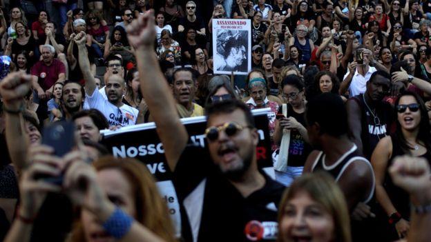 Protesto contra comemoração dos 55 anos do golpe de 1964