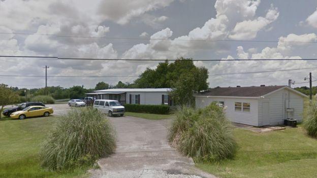 Vista del centro Shiloh, en Texas, tomada por Google.