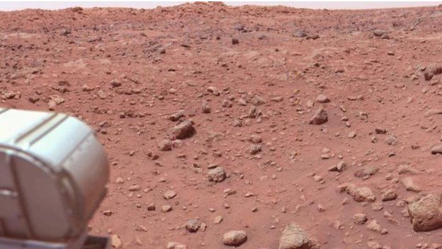 Mars wasn't always so dry: Billions of years ago it had a lot of water