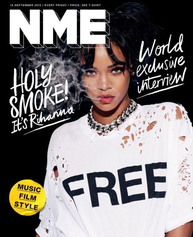 Rihanna's NME cover