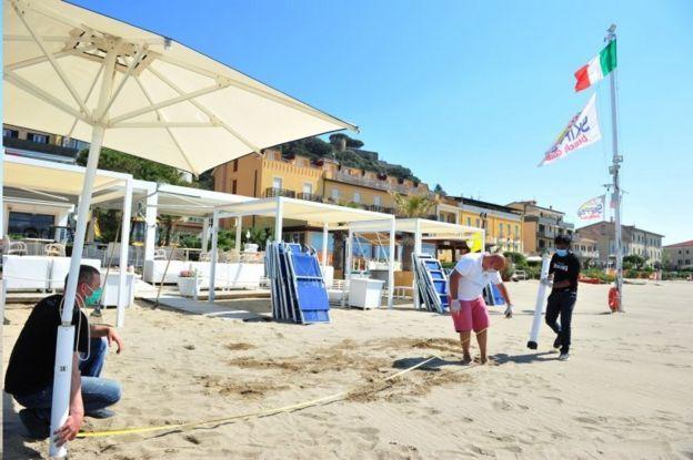 Castiglione della Pescaia Plajı