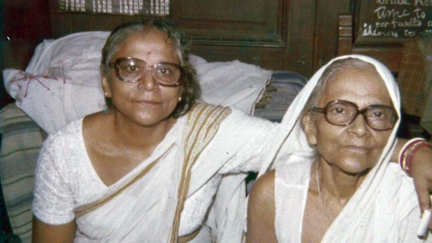 Chitrita's mother and grandmother