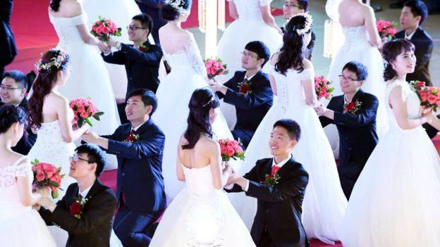 Ceremonia en China
