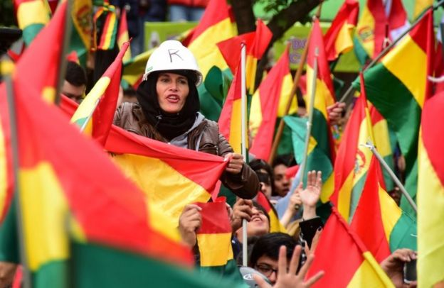 Banderas de Bolivia