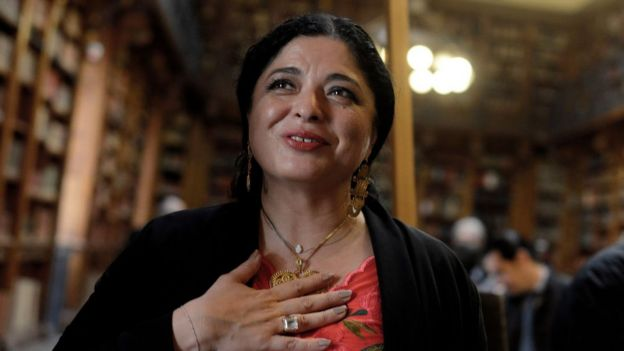 La secretaria de Cultura de México, Alejandra Frausto Guerrero