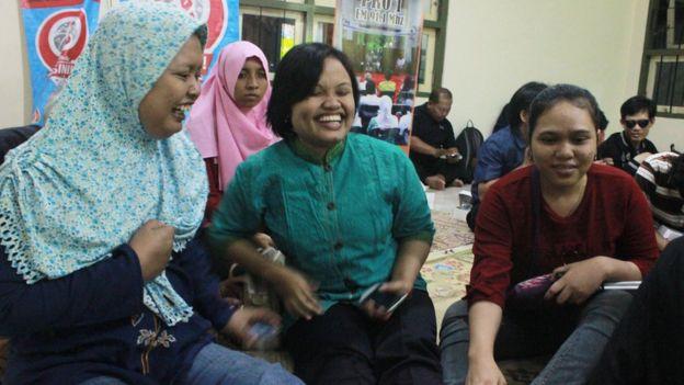 Acara dengar bareng pertandingan Piala Dunia ini baru pertama kalinya diadakan di Yogyakarta.