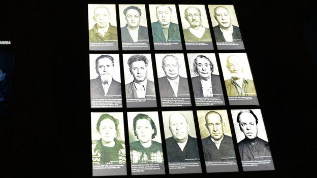 Обвиняемые в процессе по делу еврейского антифашистского комитета