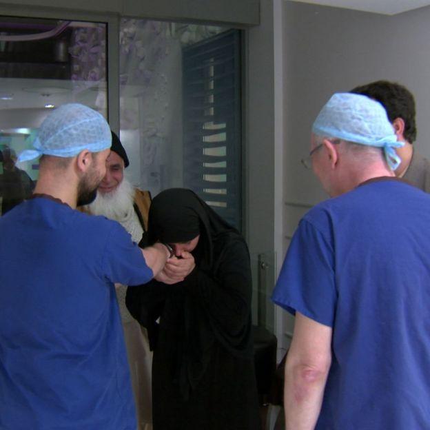 cirujanos con Zainab