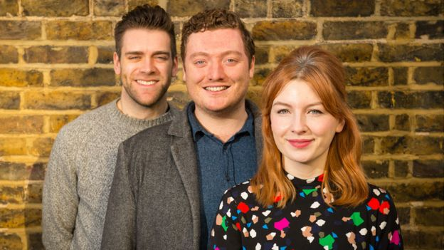 James Cooper, Jamie Morton and Alice Levine