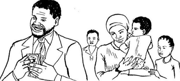 Los hombres ganan el dinero mientras que las mujeres se ocupan de los niños: los prejuicios de género en textos escolares.