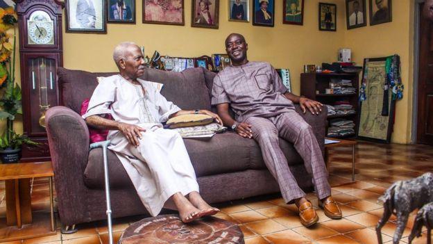 Makinde n ṣe abẹwo si awọn agbagba ilẹ Yoruba lẹyin to jaweolubori