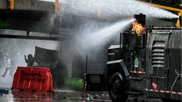 Protesta en Ecuador