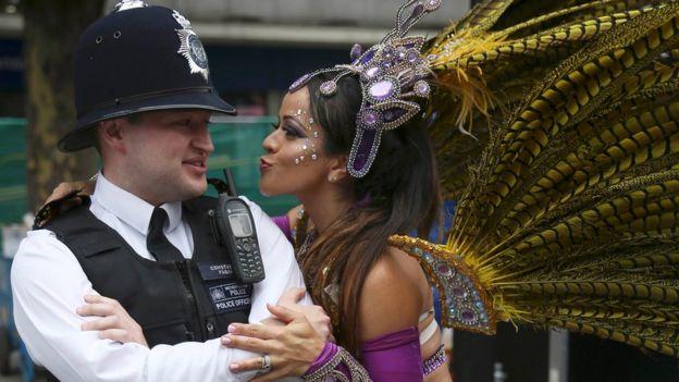 伦敦每年的诺丁山狂欢节就是加勒比海地区移民带来的文化影响