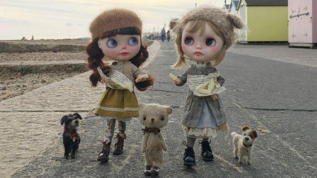 Muñecas en Felixstowe