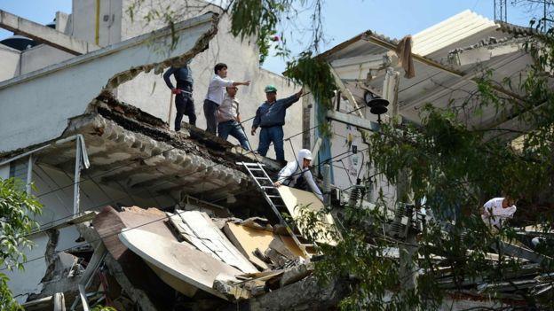 مدى الخسائر التي تسبب فيها الزلزال