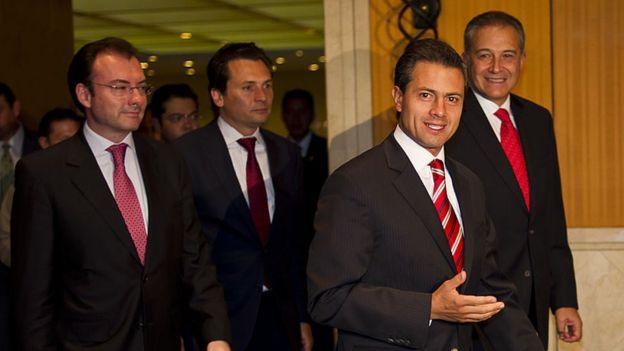 Videgara, Lozoya y Peña Nieto