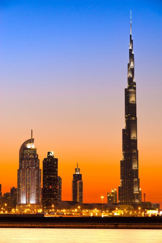 Burj Khalifa de Dubai