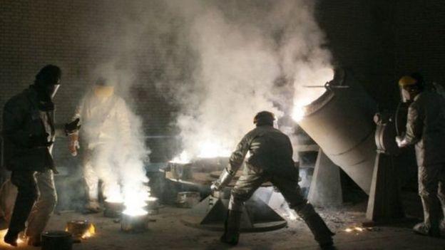 صورة أرشيفية لأنشطة تخصيب اليورانيوم في إيران