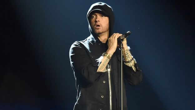 Eminem defends controversial lyrics