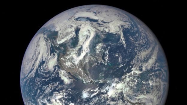 Image of earth taken from space