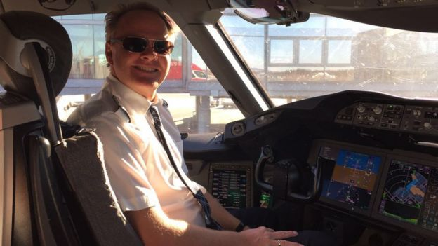 el piloto Harold van Dam
