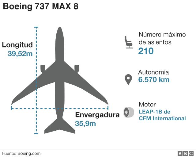 Infografía avión.