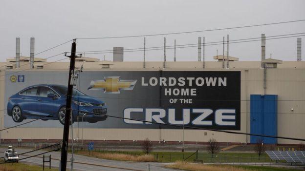 Publicidad del Chevrolet Cruze.