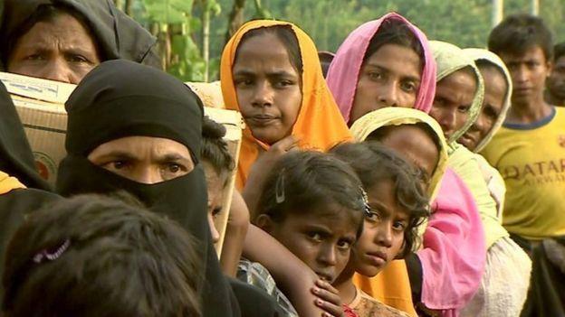 Qaxootiga Muslimiinta Rohingya